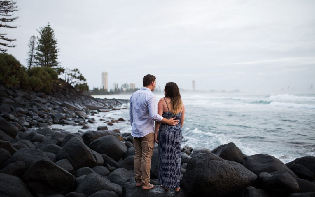 Burleigh engagement Megan & Jason
