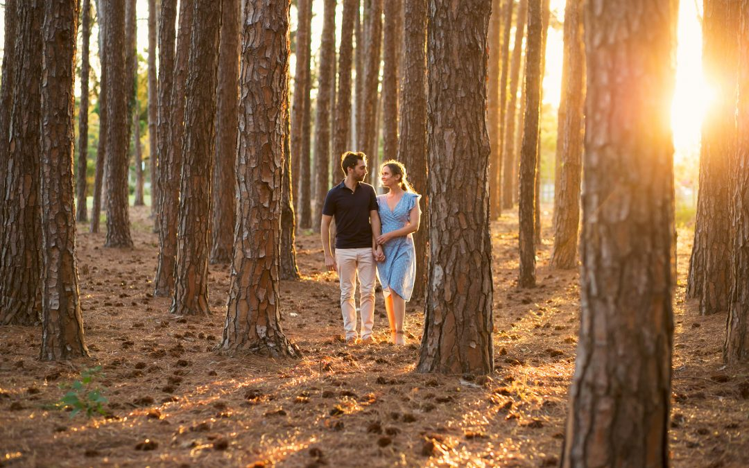 Choosing Locations for Engagement shoots